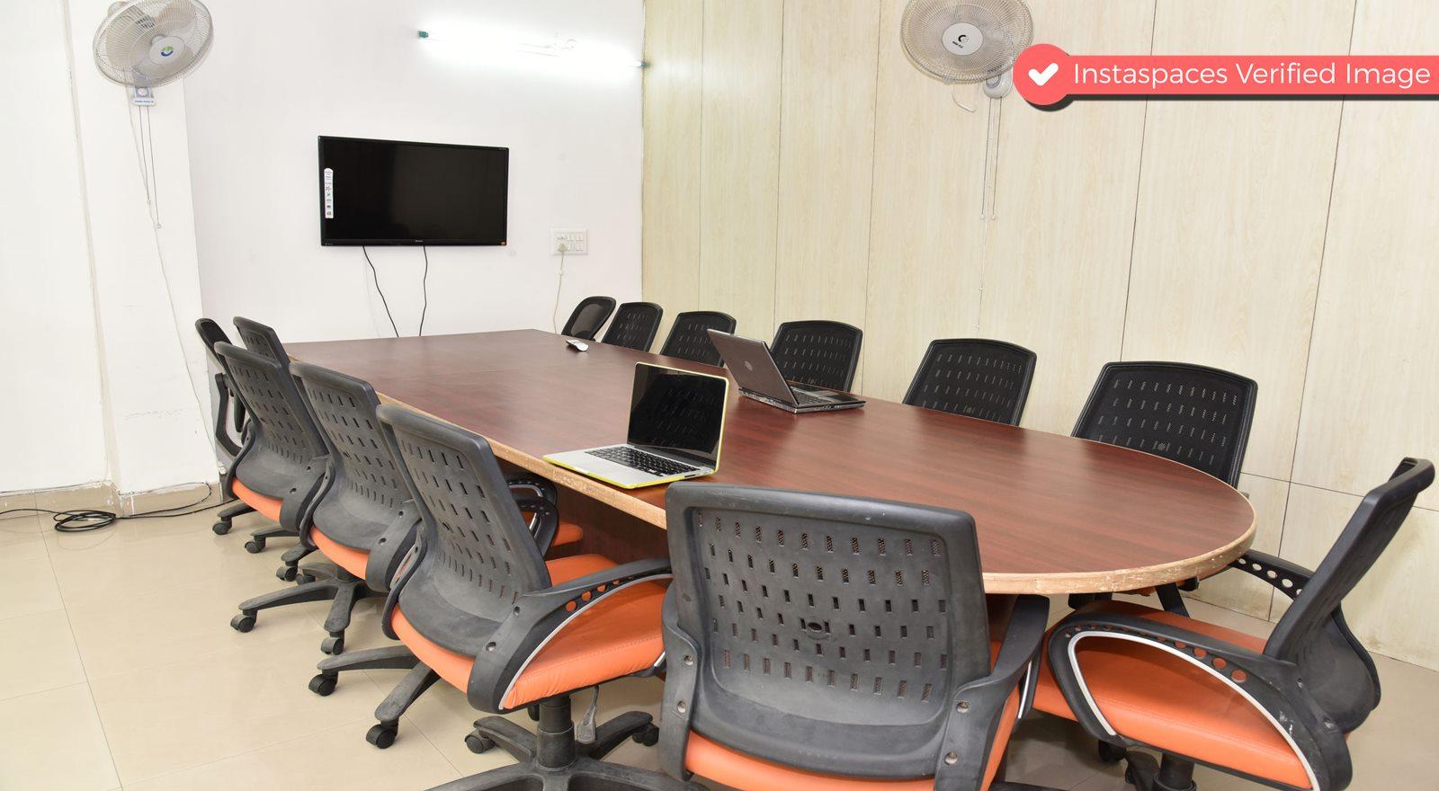 Natural Light Filled Conference Room in Dwarka